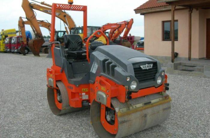 120 hamm road roller
