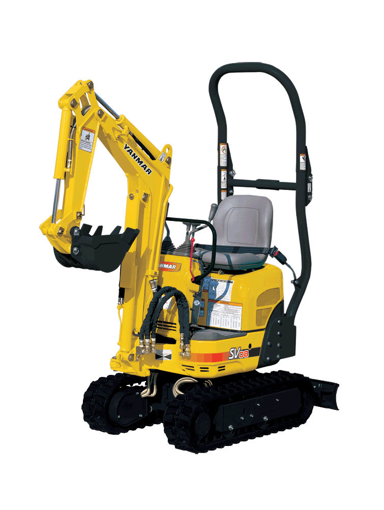 Yanmar Sv08 1 Mini Excavator Pierce Hire